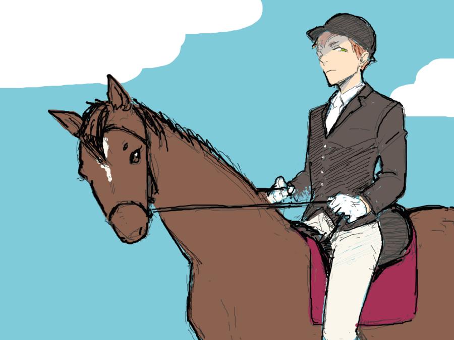 ノイズの乗馬スタイル。